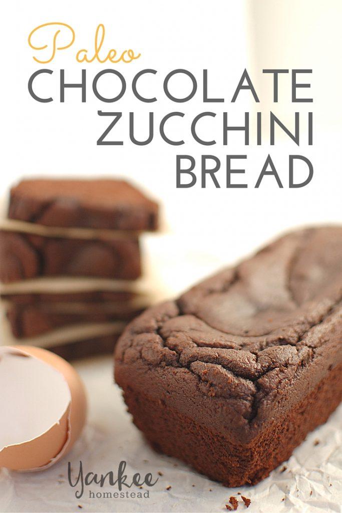 Chocolate Zucchini Bread | Yankee Homestead