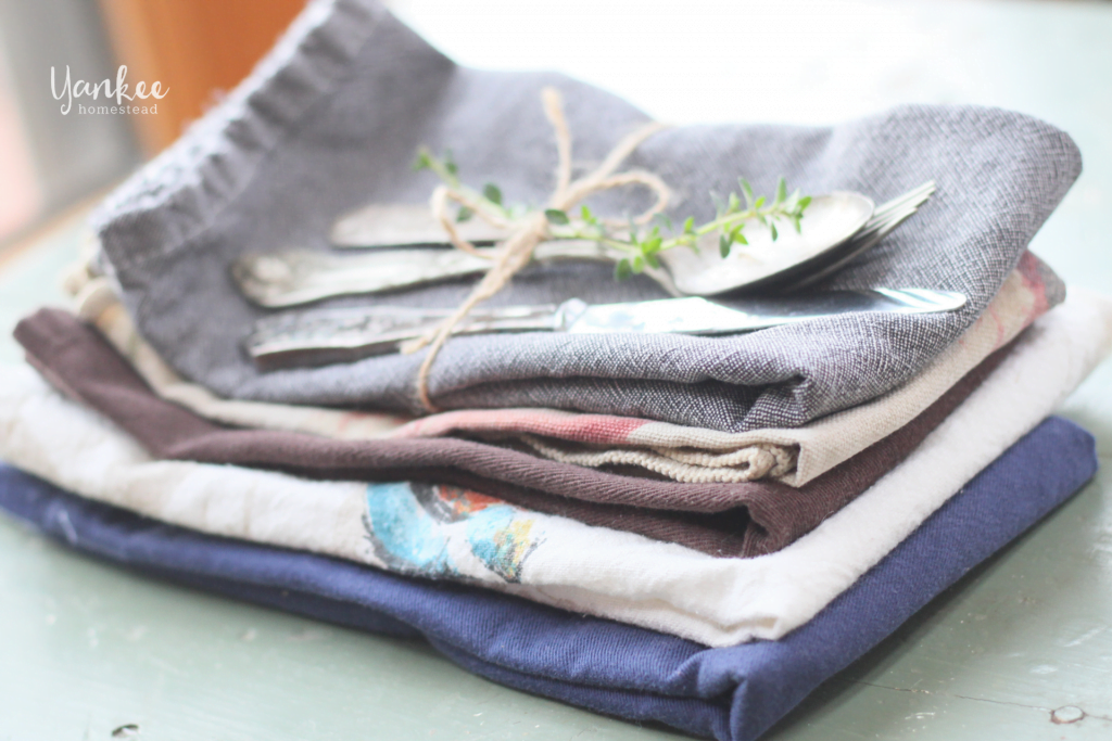 8 Tips for Switching to Cloth Napkins | Yankee Homestead