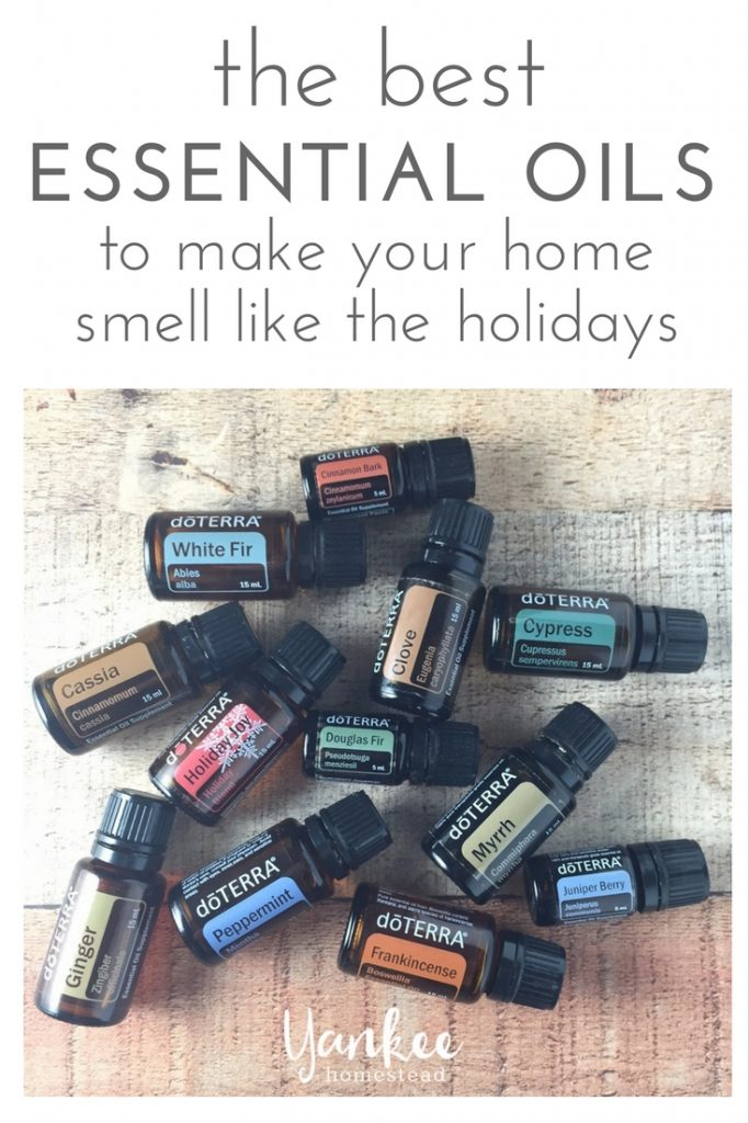 How to Give Your House that Holiday Smell with Essential Oils | Yankee Homestead