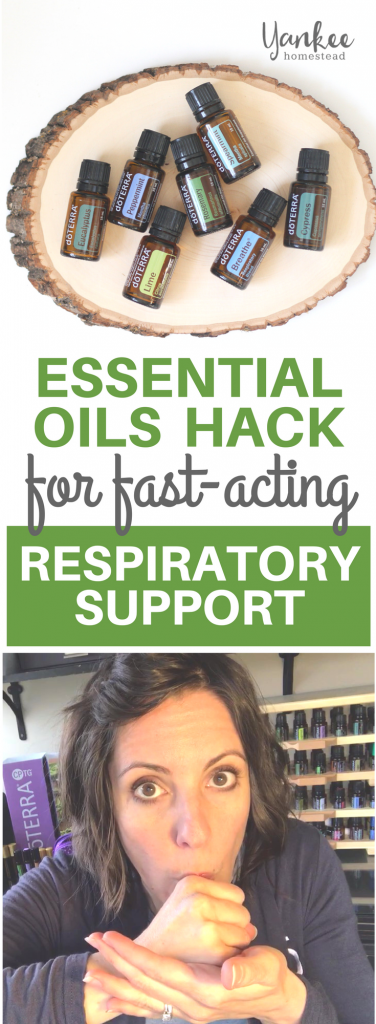 Fast Acting Respiratory Support with Essential Oils | Yankee Homestead