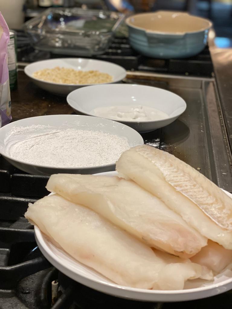 Cashew Crusted Mahi Mahi | Yankee Homestead