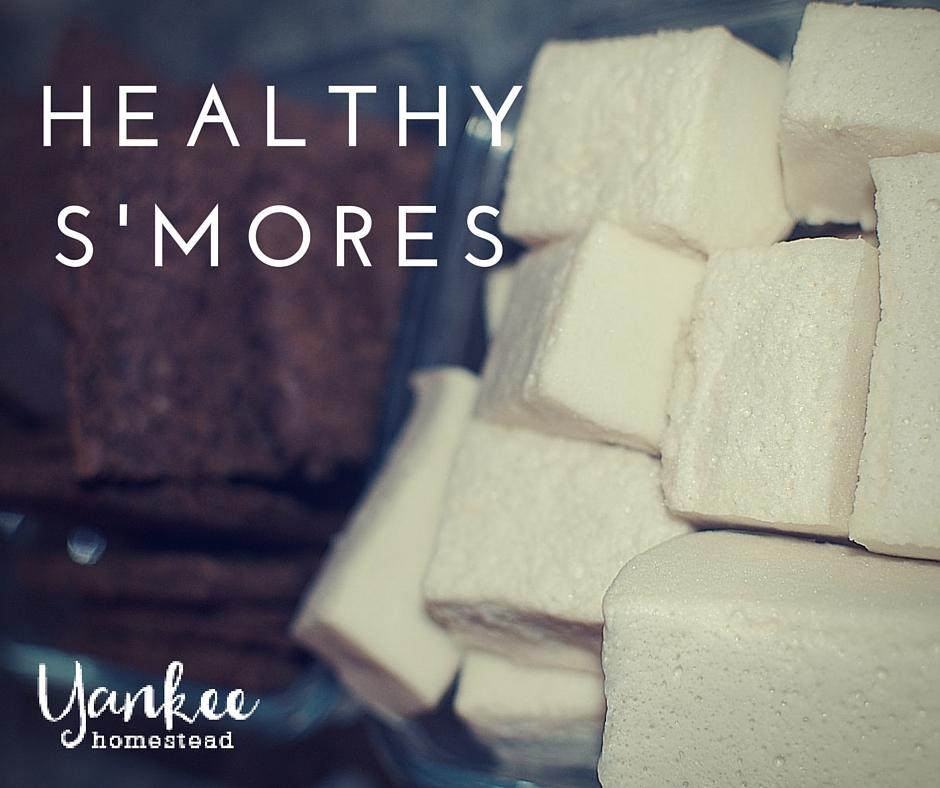 Healthy S'mores