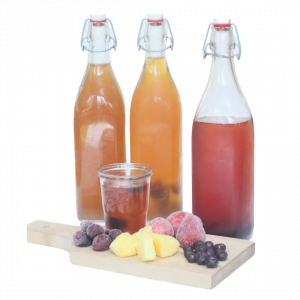 How to Flavor Kombucha with Frozen Fruit