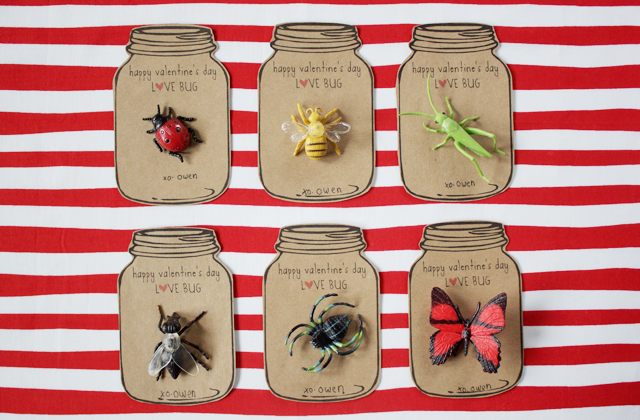 Love Bug: Non-candy valentines ideas | Roots & Boots