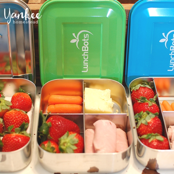 Pack a Plastic-Free Lunch with LunchBots Stainless Steel Containers   Yankee Homestead