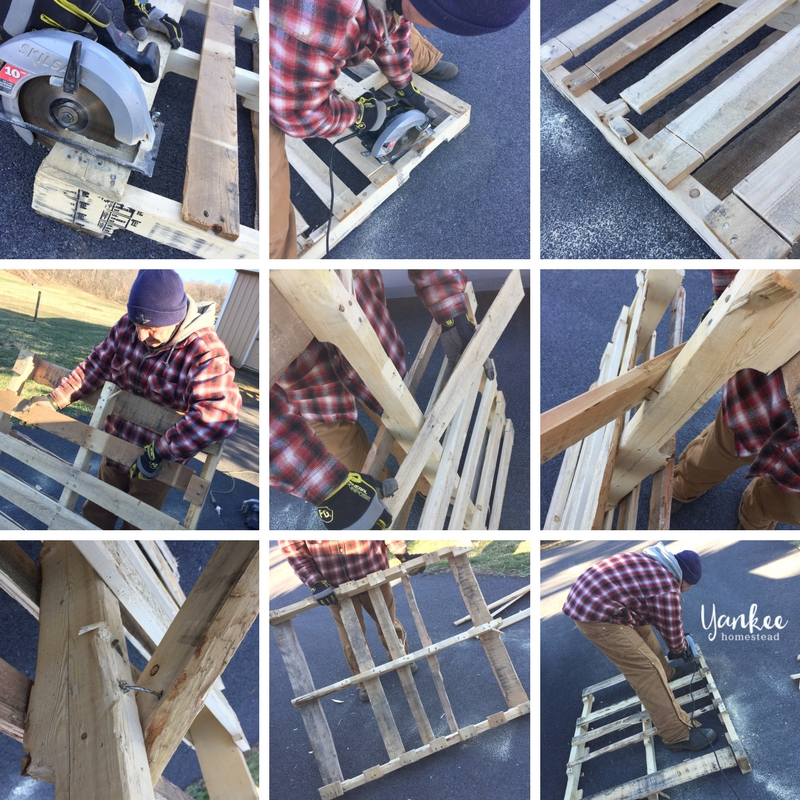 How to Build a Cold Frame out of Pallets | Yankee Homestead