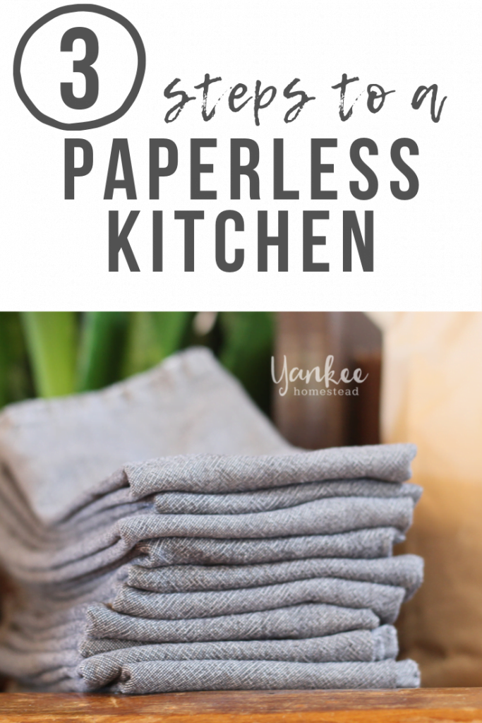 3 Steps to a Paperless Kitchen | Yankee Homestead