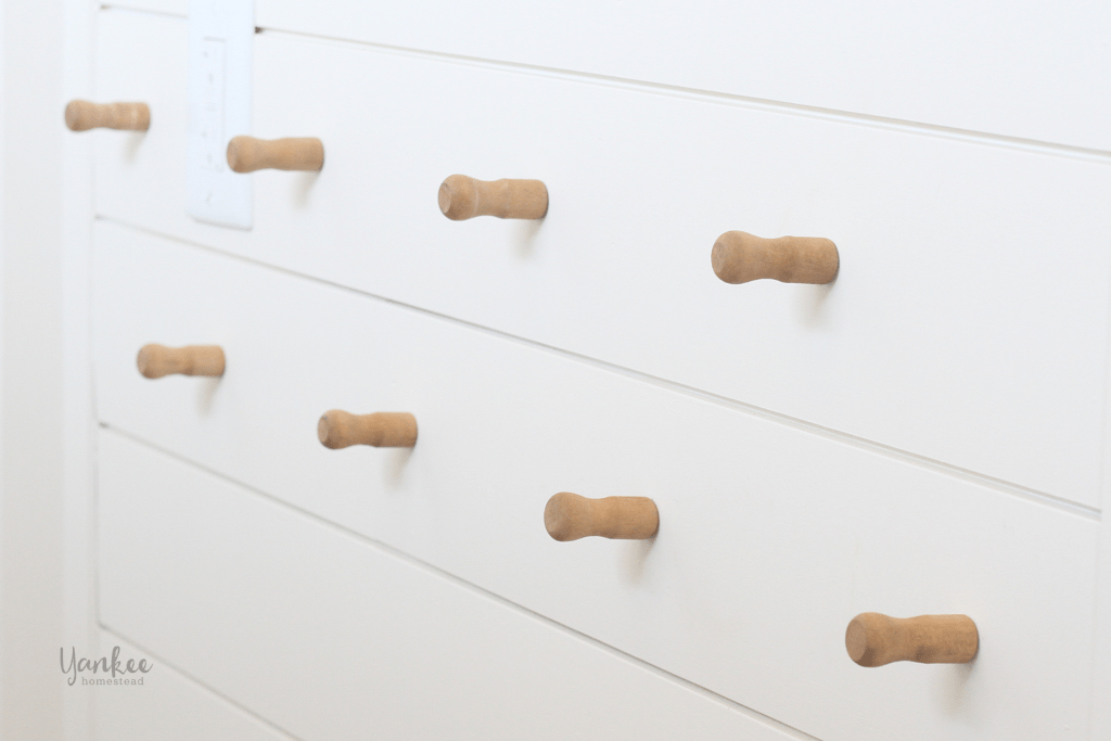 How to Attach Knobs or Pegs to a Wall