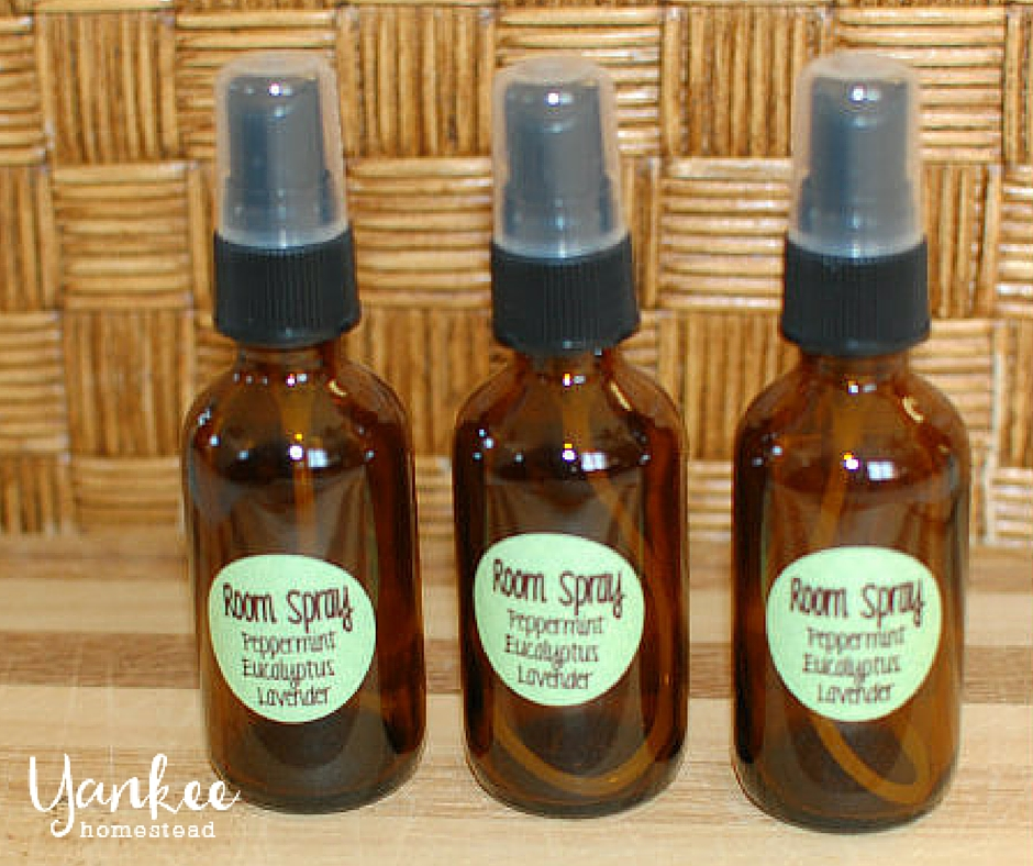 DIY Room Spray with Essential Oils | Yankee Homestead