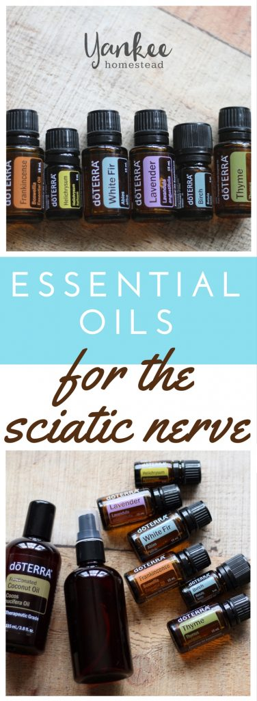 Essential Oils for the Sciatic Nerve | Yankee Homestead
