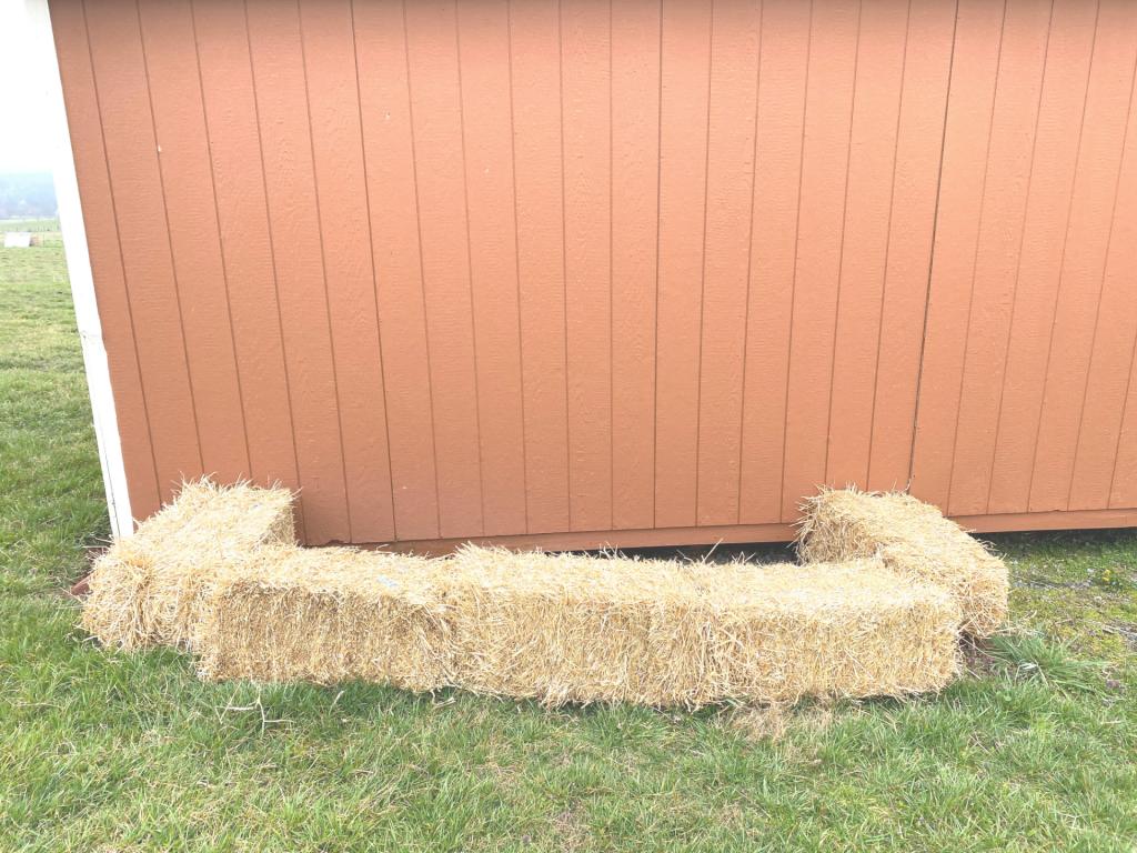 DIY Straw Bale Cold Frame | Yankee Homestead