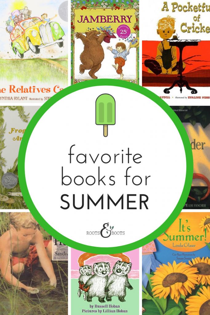 9 Favorite Children's Books for Summer | Roots & Boots