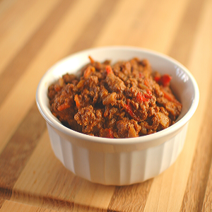 Seasoned taco meat is an easy crowd pleaser, plus you can hide all sorts of nutritious veggies in and no one will know!