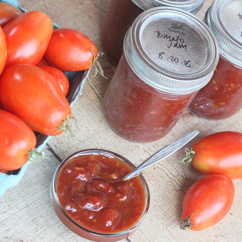 Honey Tomato Jam | Roots & Boots