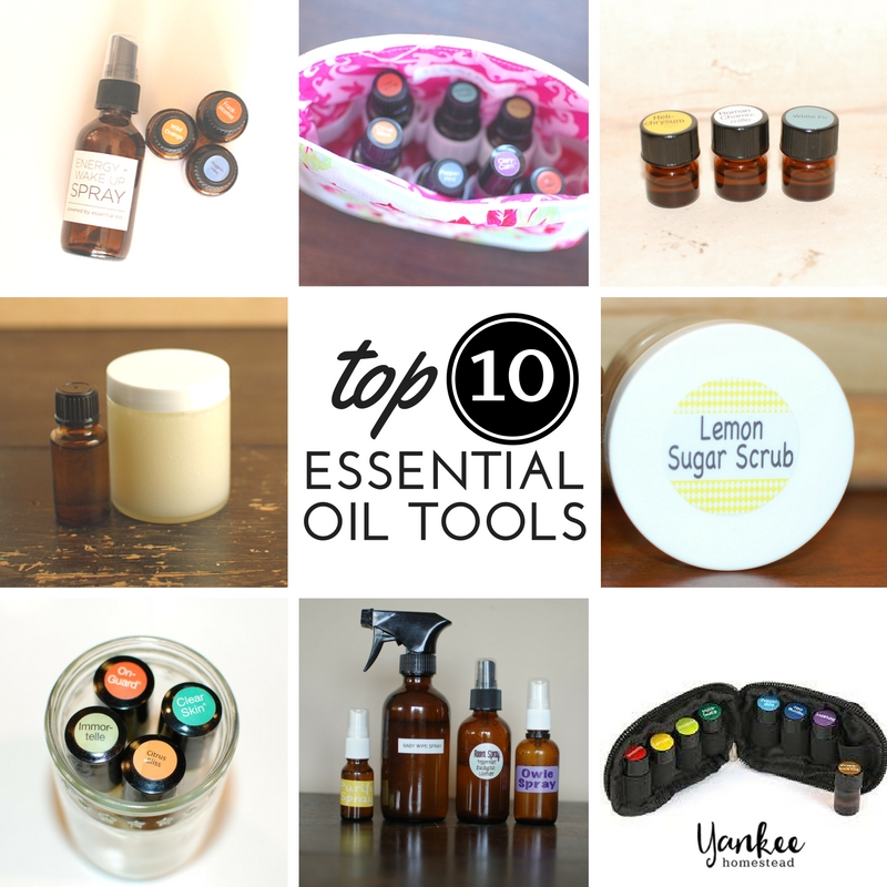 Top 10 Essential Oil Tools