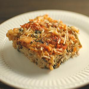Gluten Free Leftover Turkey and Rice Casserole