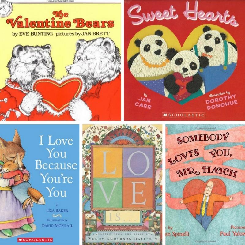 Favorite Books for Valentine's Day