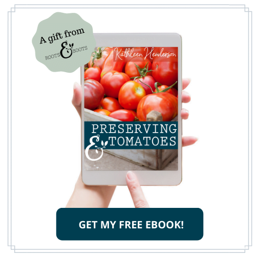 Free Guide to Preserving Tomatoes | Roots & Boots