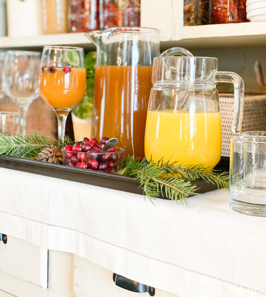 Easy Kid-Friendly Holiday Mocktail | Roots & Boots