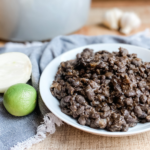 Refried Black Beans | Roots & Boots
