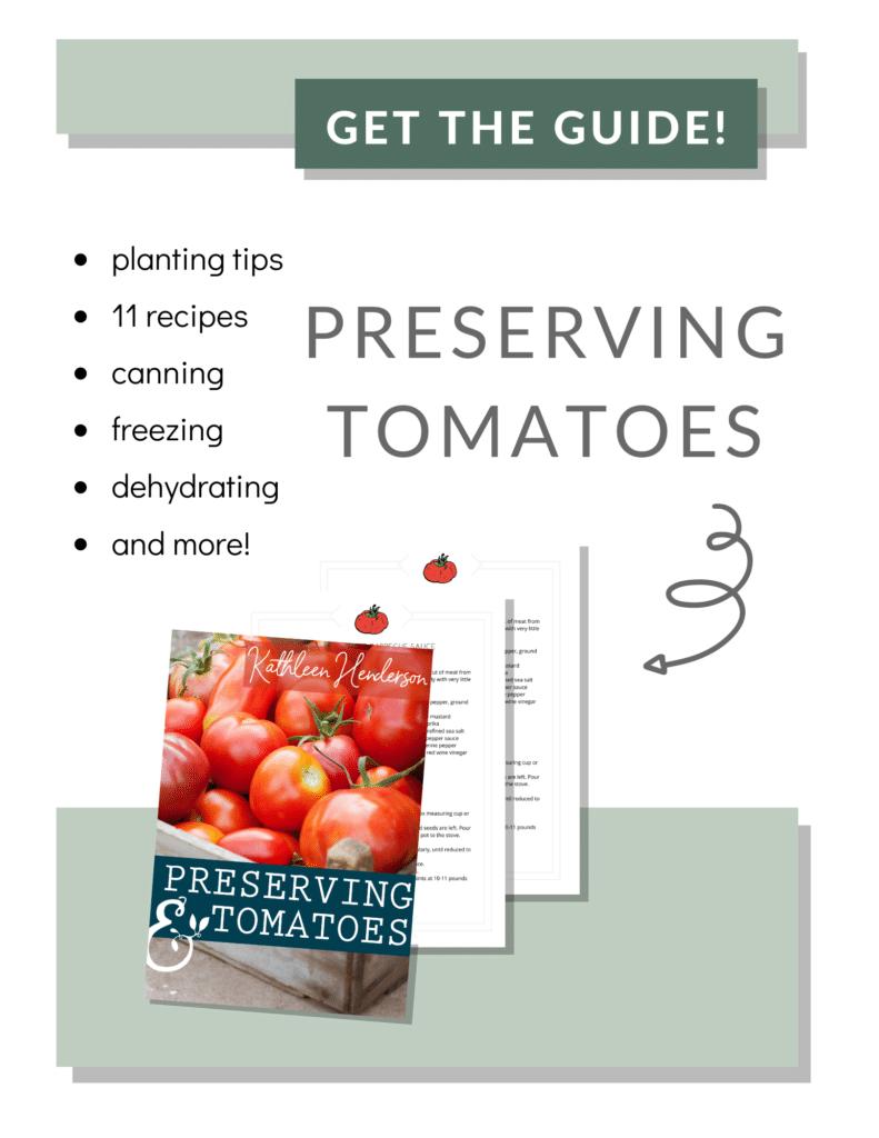 Preserving Tomatoes Ebook