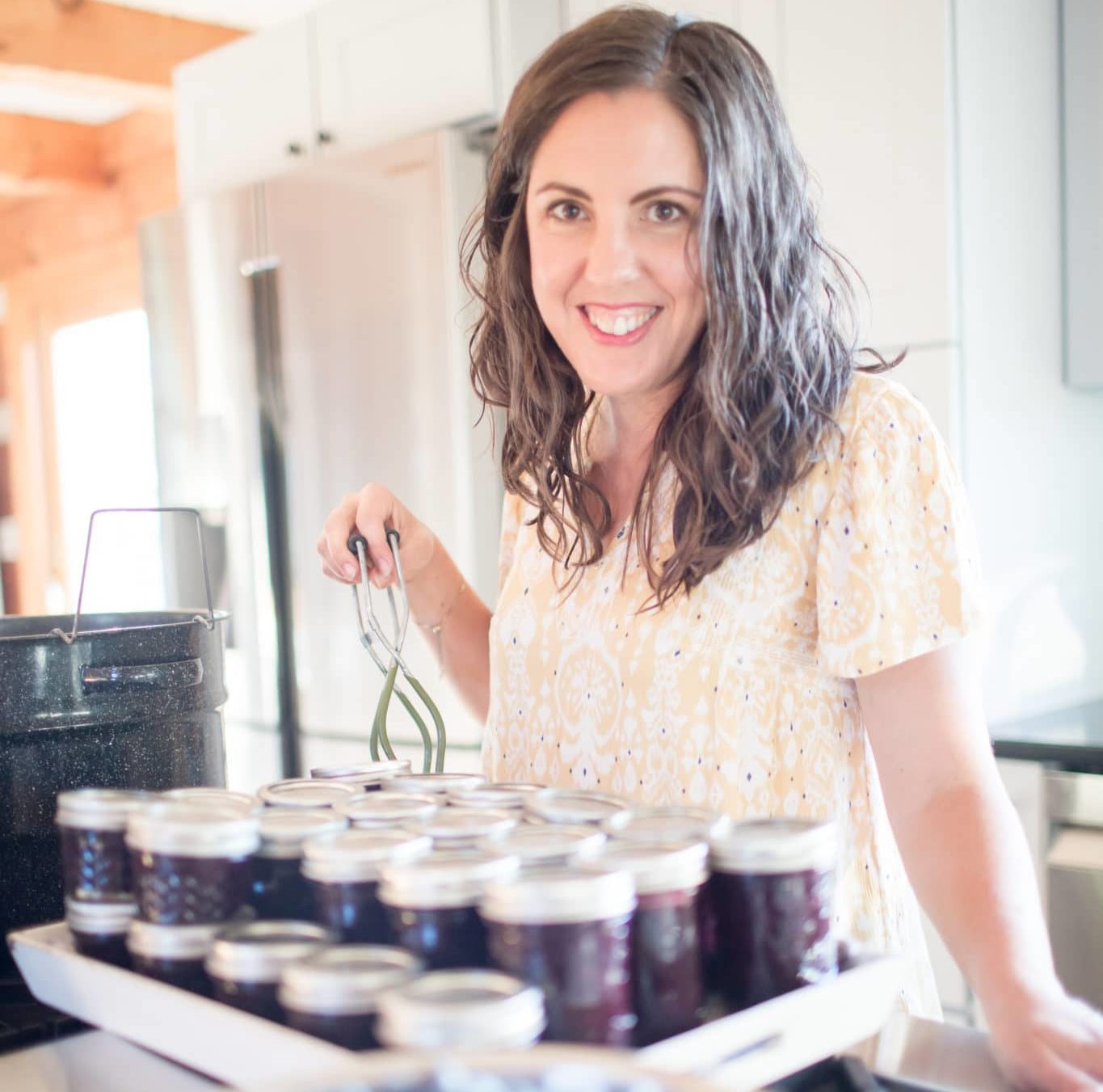 How to Can Sugar-Free Jam | Roots & Boots