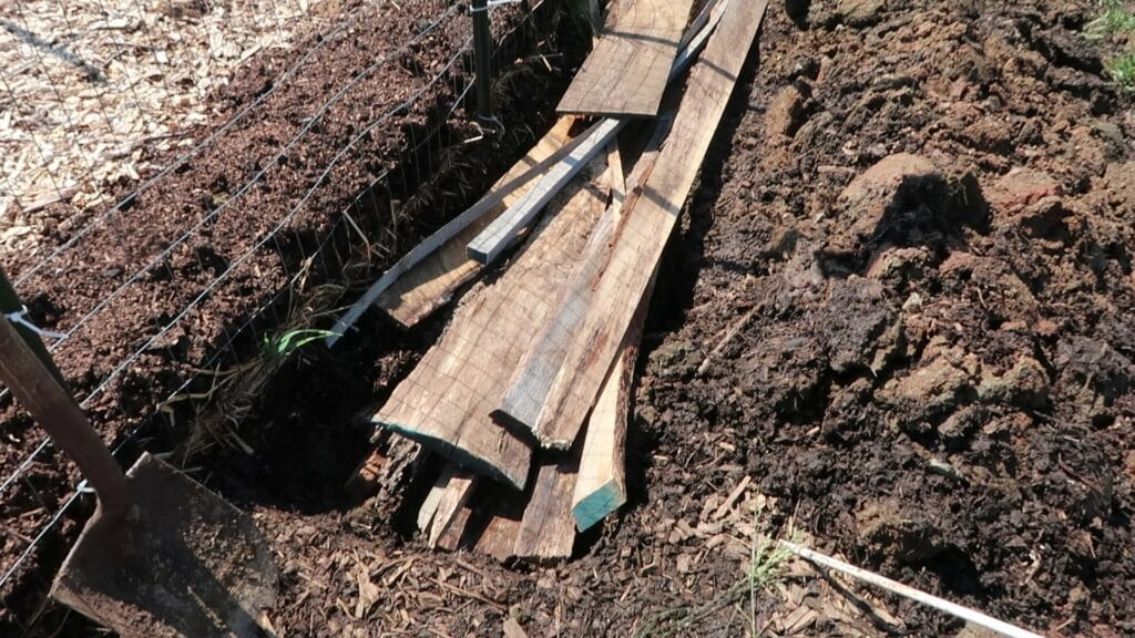 How to Create Trenched Hugelkultur Beds   Roots & Boots