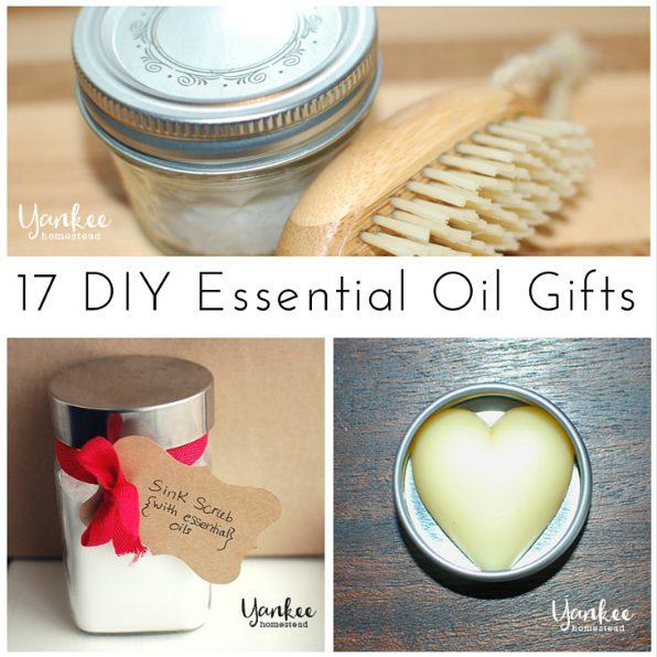 17 DIY Essential Oil Gifts