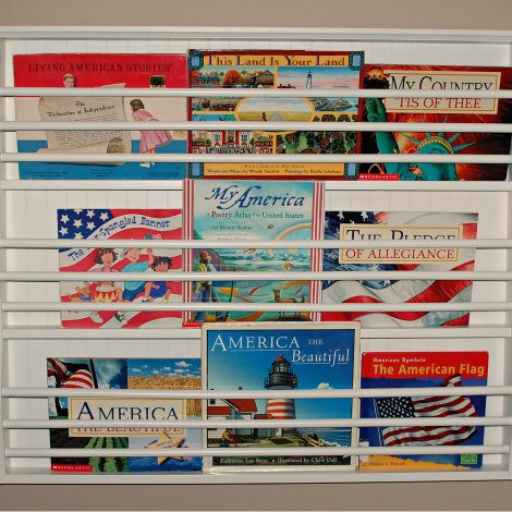 Patriotic Book Display