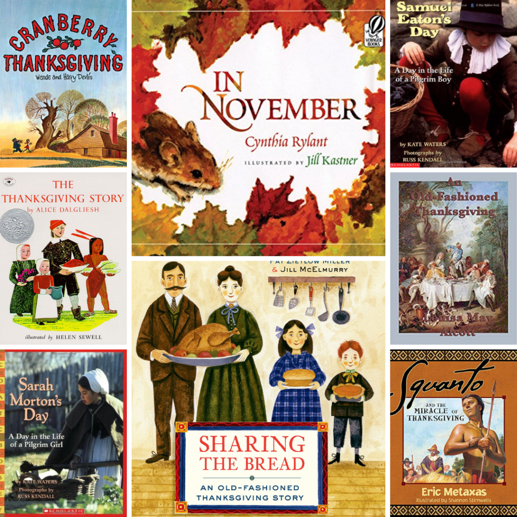 Favorite Thanksgiving Stories for Children | Roots & Boots