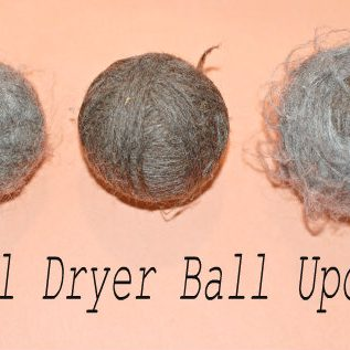 Wool Dryer Ball Update