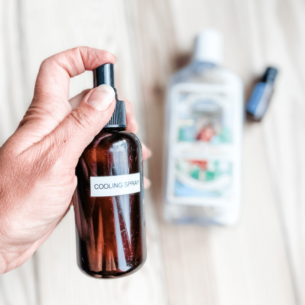 Easy DIY Cooling Spray | Roots & Boots