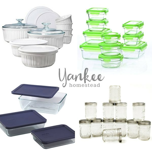 Banish plastic once and for all with these hardworking, nontoxic food storage containers.