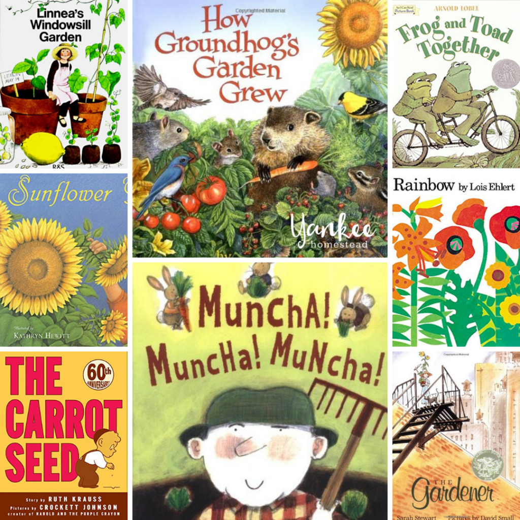 Favorite Children's Books About Seeds and Gardens